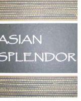 Asian Splendor