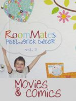 Peel & Stick Decor Vol. 2 - Movies and Comics