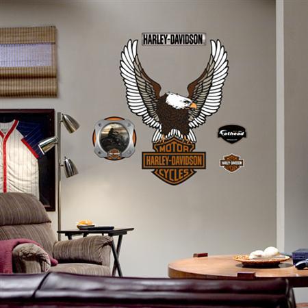 Harley Davidson Eagle Logo ― Eades Discount Wallpaper